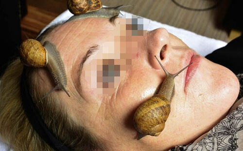 snail farm een rimpelloze huid
